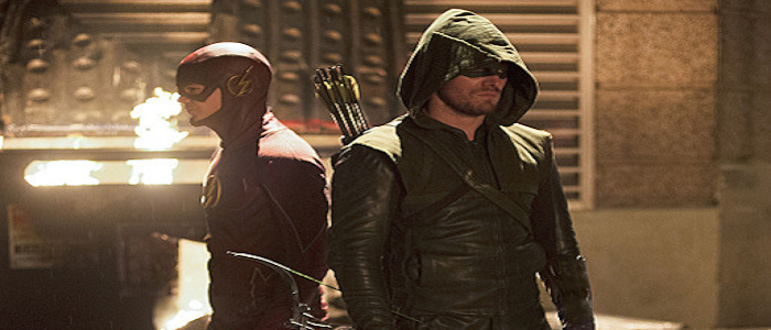 First Promo Images For The Arrow/Flash Crossover!