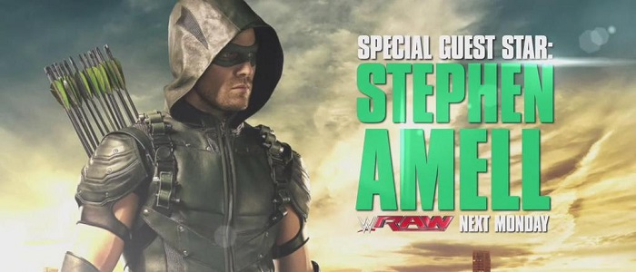 Stephen Amell To Appear On Raw Next Week!