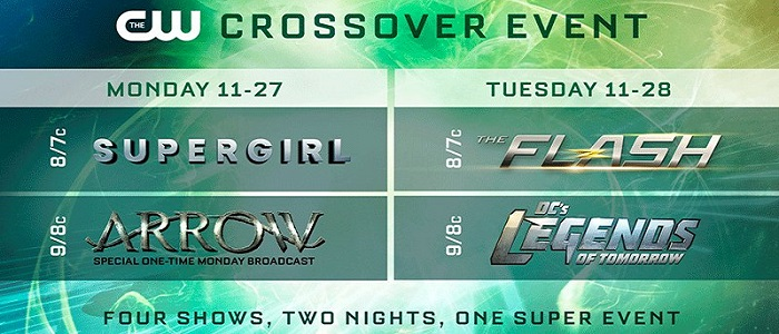 Air Dates For This Year's Crossover