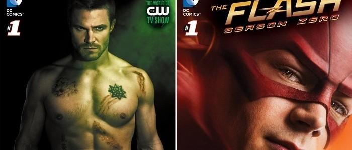 New Arrow And The Flash Digital Comics Series Announced