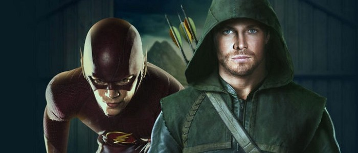 Stephen Amell & Grant Gustin Talk The Arrow/Flash Crossover