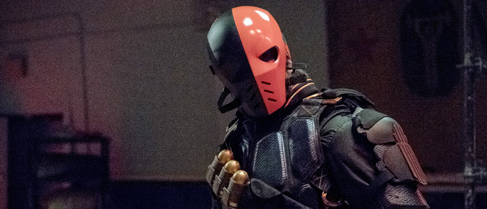 "Promo Images For Season 6 Episode 05 ""Deathstroke Returns"""